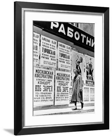 Julie Christie, Doctor Zhivago, 1965--Framed Photographic Print