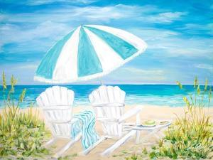 Beach Umbrella by Julie DeRice