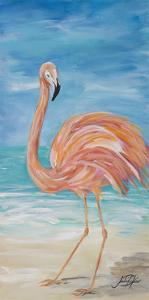 Flamingo II by Julie DeRice