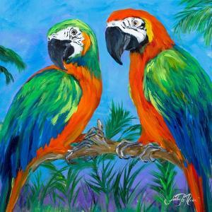 Island Birds Square I by Julie DeRice