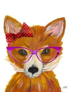 Nerdy Fox by Julie DeRice