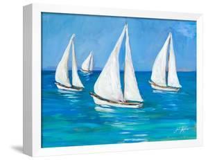 Sailboats I by Julie DeRice