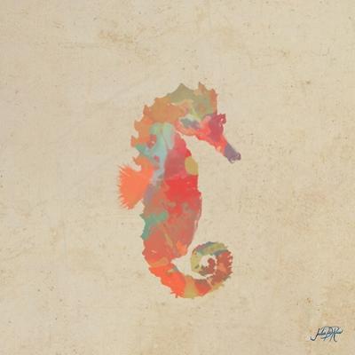 Sea Creatures on Tan III by Julie DeRice