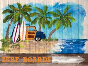 Surf Boards by Julie DeRice