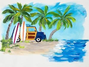 Tropical Vacation II by Julie DeRice