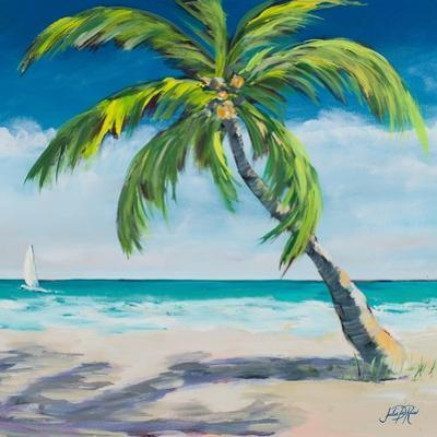Under the Palm's Breeze I by Julie DeRice