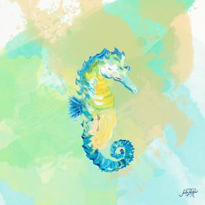 Watercolor Sea Creatures III by Julie DeRice