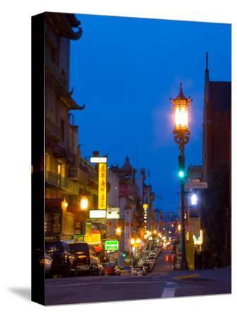Chinatown at Night, San Francisco, California, USA
