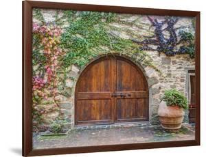 Italy, Tuscany, Chianti Region. This Is the Castello D'Albola Estate by Julie Eggers