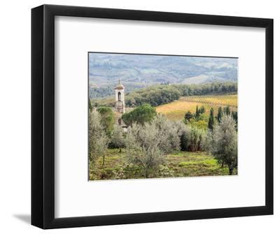 Italy, Tuscany. Santa Maria Novella Monastery Near Radda in Chianti