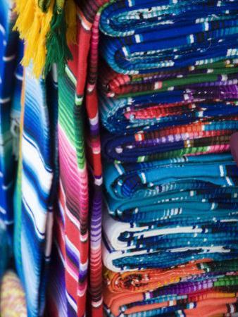 Mayan Textiles For Sale, Valladolid, Yucatan, Mexico
