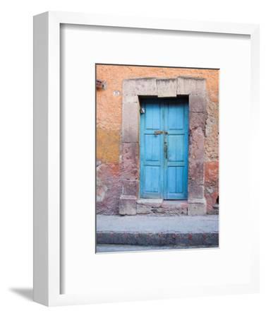 Old Blue Door, San Miguel, Guanajuato State, Mexico
