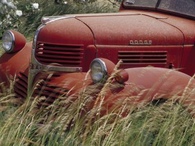Old Truck in Grassy Field, Whitman County, Washington, USA by Julie Eggers