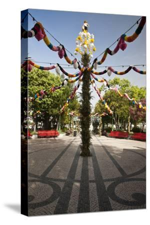 Tavira Decorated for the Popular Saints Festivities, Portugal