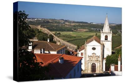 This Is the Church of Santa Maria in Obidos, Leiria, Portugal