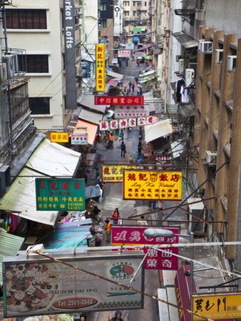 Typical Street, Hong Kong, China