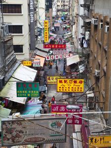 Typical Street, Hong Kong, China by Julie Eggers