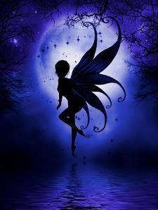 Indigo Fairy by Julie Fain