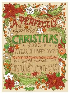 A Perfectly Splendid Christmas-color by Julie Goonan
