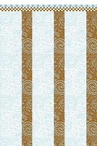 Brown-Blue Quilt by Julie Goonan