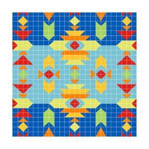 Geometric Square by Julie Goonan
