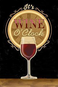 It's Wine O'Clock by Julie Goonan