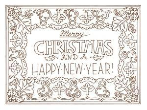 Merry Christmas and Happy New Year by Julie Goonan