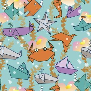 Origami Ocean by Julie Goonan