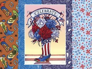 Patriotic Postcard by Julie Goonan