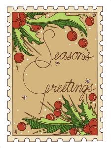 Season's Greetings by Julie Goonan
