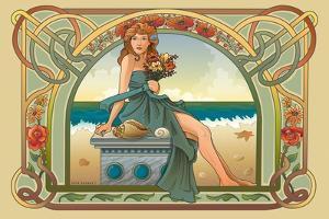 Summer Nouveau by Julie Goonan