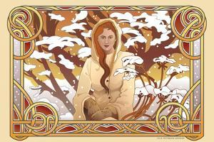 Winter Nouveau by Julie Goonan