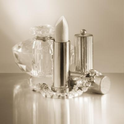 Vintage Glamour Lipstick and Perfume by Julie Greenwood