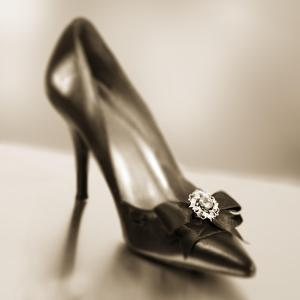 Vintage Glamour Shoe by Julie Greenwood