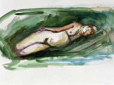 Reclining Nude, 2015