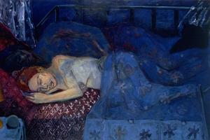 Sleeping Couple, 1997 by Julie Held