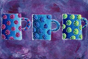3 Mugs, 2004 by Julie Nicholls