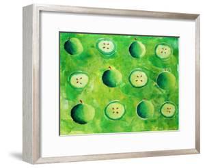 Apples in Halves, 2006 by Julie Nicholls