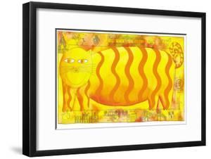 Cheshire Cat, 1998 by Julie Nicholls
