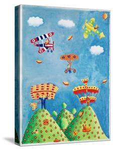 Early Plane Flight, 2004 by Julie Nicholls