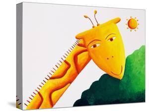 Giraffe and Sun, 2002 by Julie Nicholls