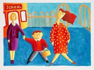 Going to School, 2004 by Julie Nicholls