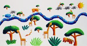 Jungle River, 2002 by Julie Nicholls