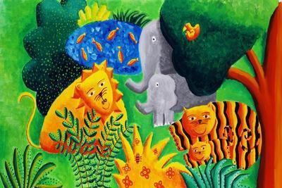 Jungle Scene, 2002