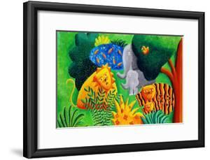 Jungle Scene, 2002 by Julie Nicholls