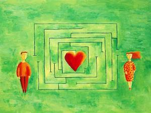 Love Maze, 2004 by Julie Nicholls