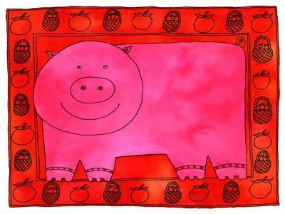 Pig and Apples, 2003