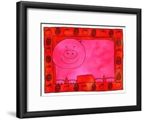 Pig and Apples, 2003 by Julie Nicholls