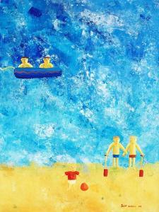 The Beach, 2002 by Julie Nicholls