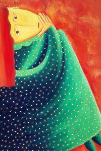 Woman Thinking, 2003 by Julie Nicholls